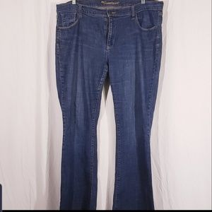 3/$25 Old Navy Sweetheart Bootcut Jeans sz 18